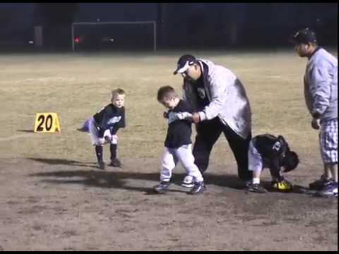 First Football Practice - Age 4