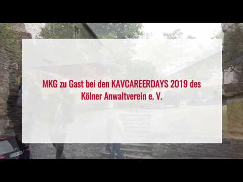 MKG zu Gast bei den KAVCAREERDAYS 2019