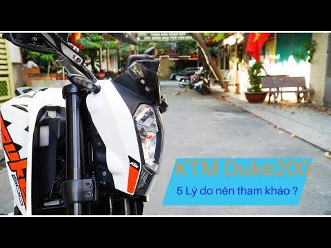 5 lý do lựa chọn KTM Duke200 ???