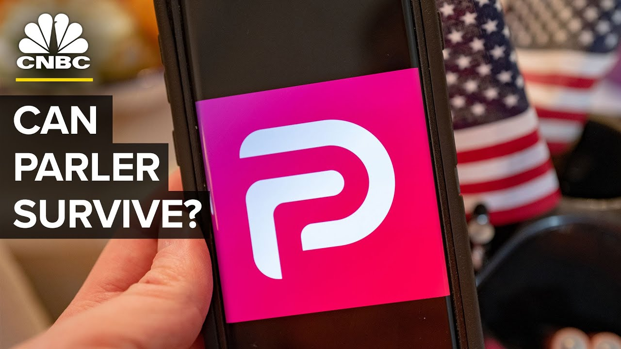 Download Can Parler Survive Without Big Tech?