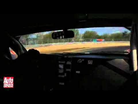 on-board Lexus IS F Nurburgring 24 Hours 2010.flv