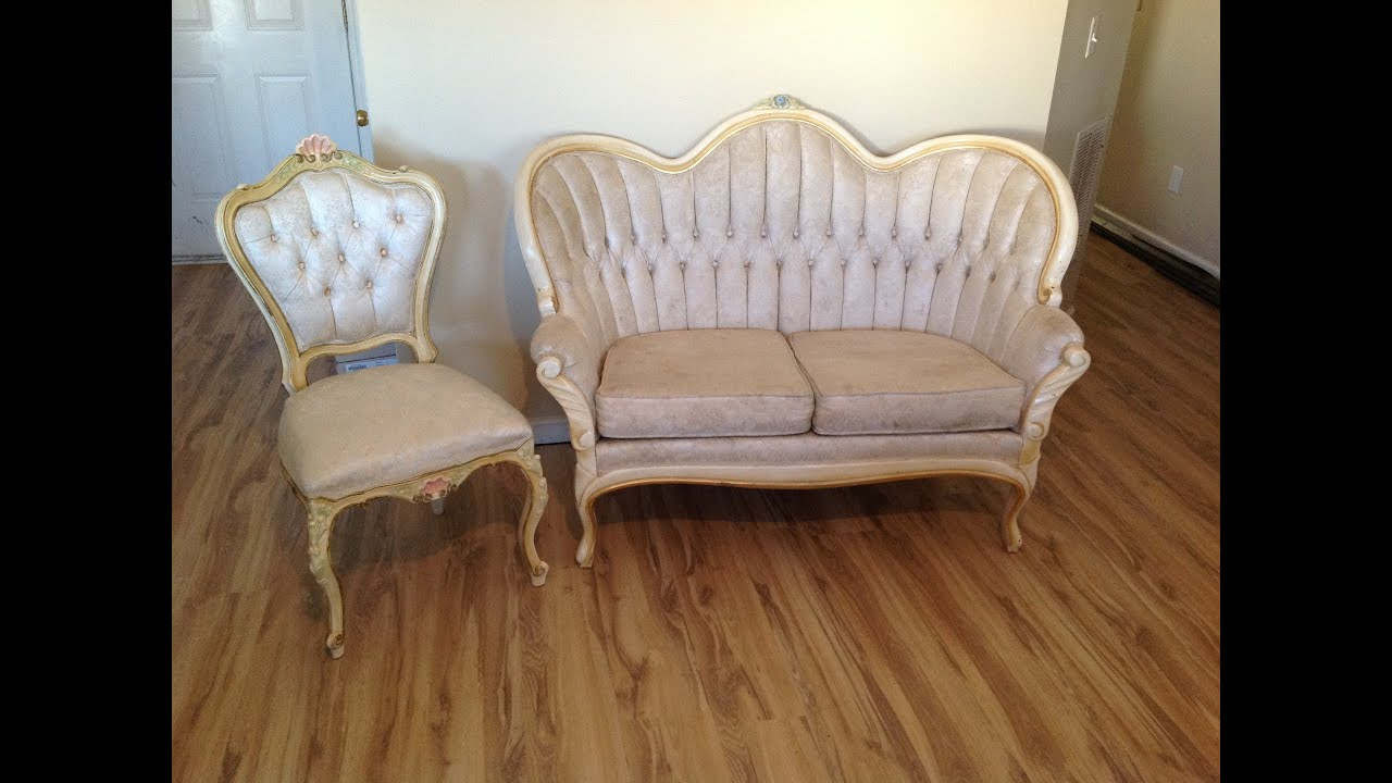 ANTIQUE 1800 PARLOR VICTORIAN SOFA SET 7708997930   YouTube