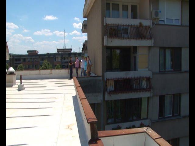 Saniran ravni krov u naselju Sunce
