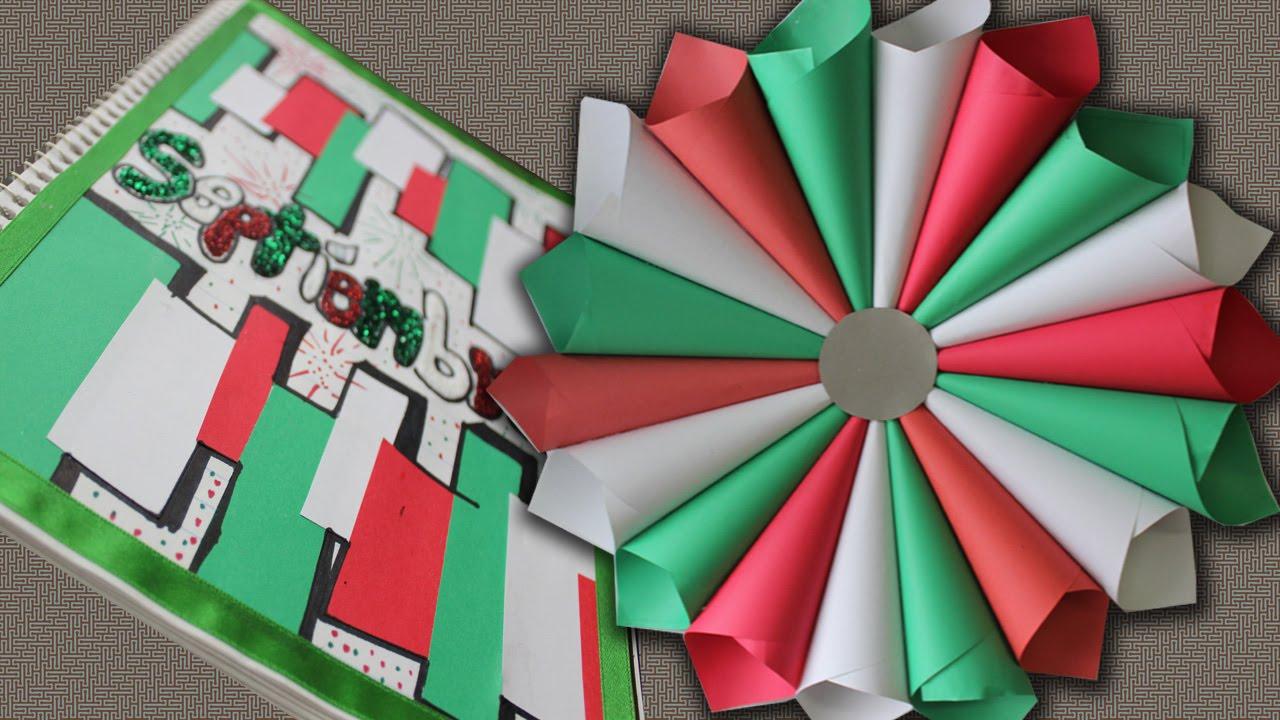 Decoracion Italiana Para Fiestas ~ Corona de papel Decoraci?n para FIESTAS PATRIAS (y portada de SEPT