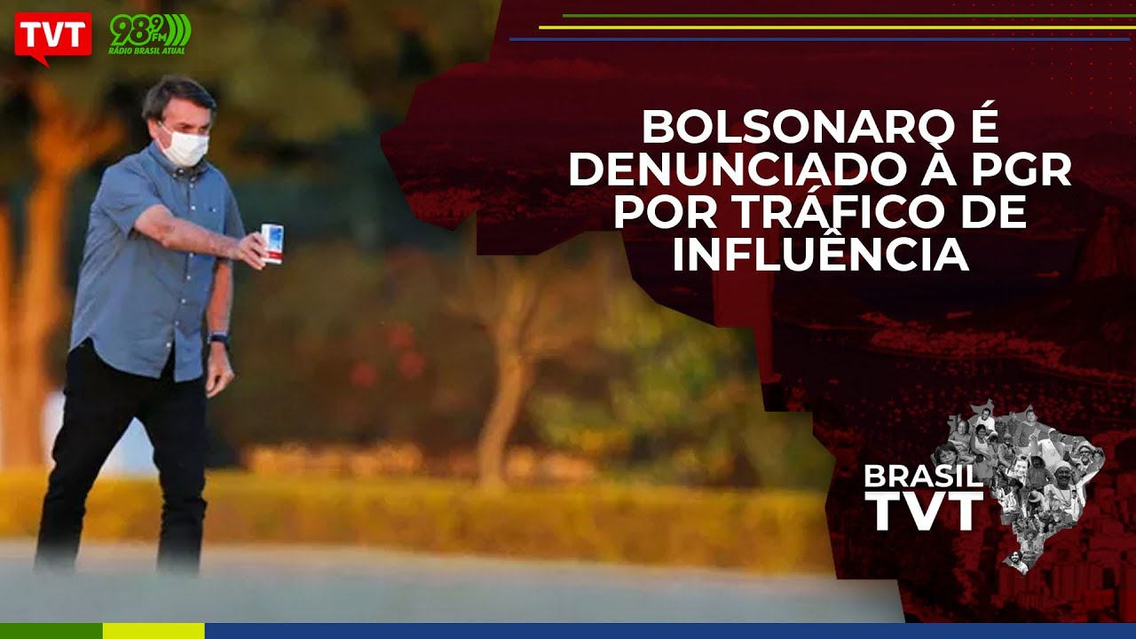 Bolsonaro é denunciado à PGR por tráfico de influência