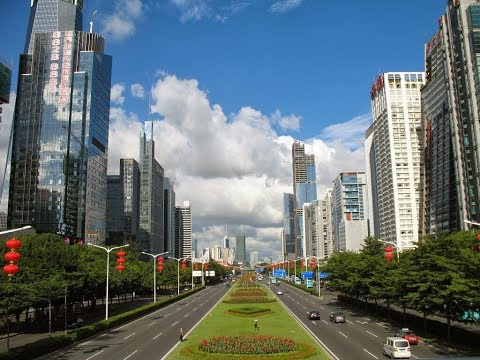 The Beautiful Shenzhen City of China: City of the Future. Sh