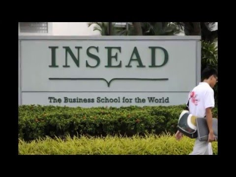 48. INSEAD business school -FRANCE