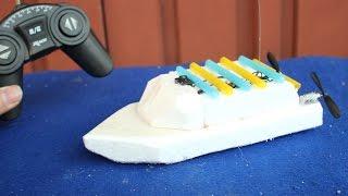 видео Детская игрушка лодка с мотором (детские бассейны и лодки)