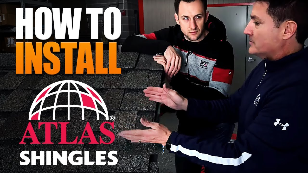 Roofing  How To Install Asphalt Shingles  Atlas Edition