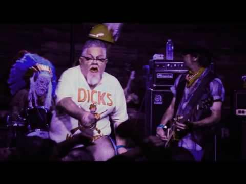 """THE DICKS """"Shit On Me"""" at Grizzly Hall, Austin, Tx. October 31, 2016"""