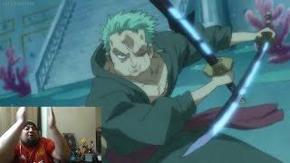 Live Reaction One Piece Episode 531 532 533 534 535 536 - Inferior Species - Zoro VS Hody