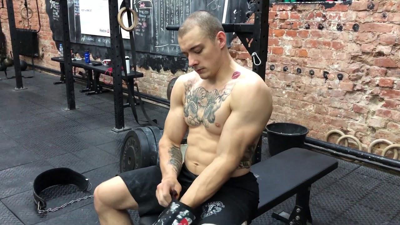 Виктор Блуд - Первая Тренировка По Стритлифтингу / Streetlifting Training