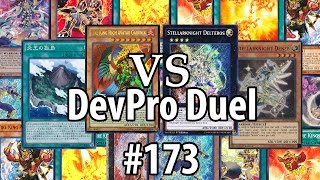 Yu-Gi-Oh! DevPro Duel #173 - Fire Kings (post Crossed Souls) - Fire King Island