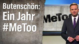 Statistikexperte Butenschön: Ein Jahr #MeToo-Debatte