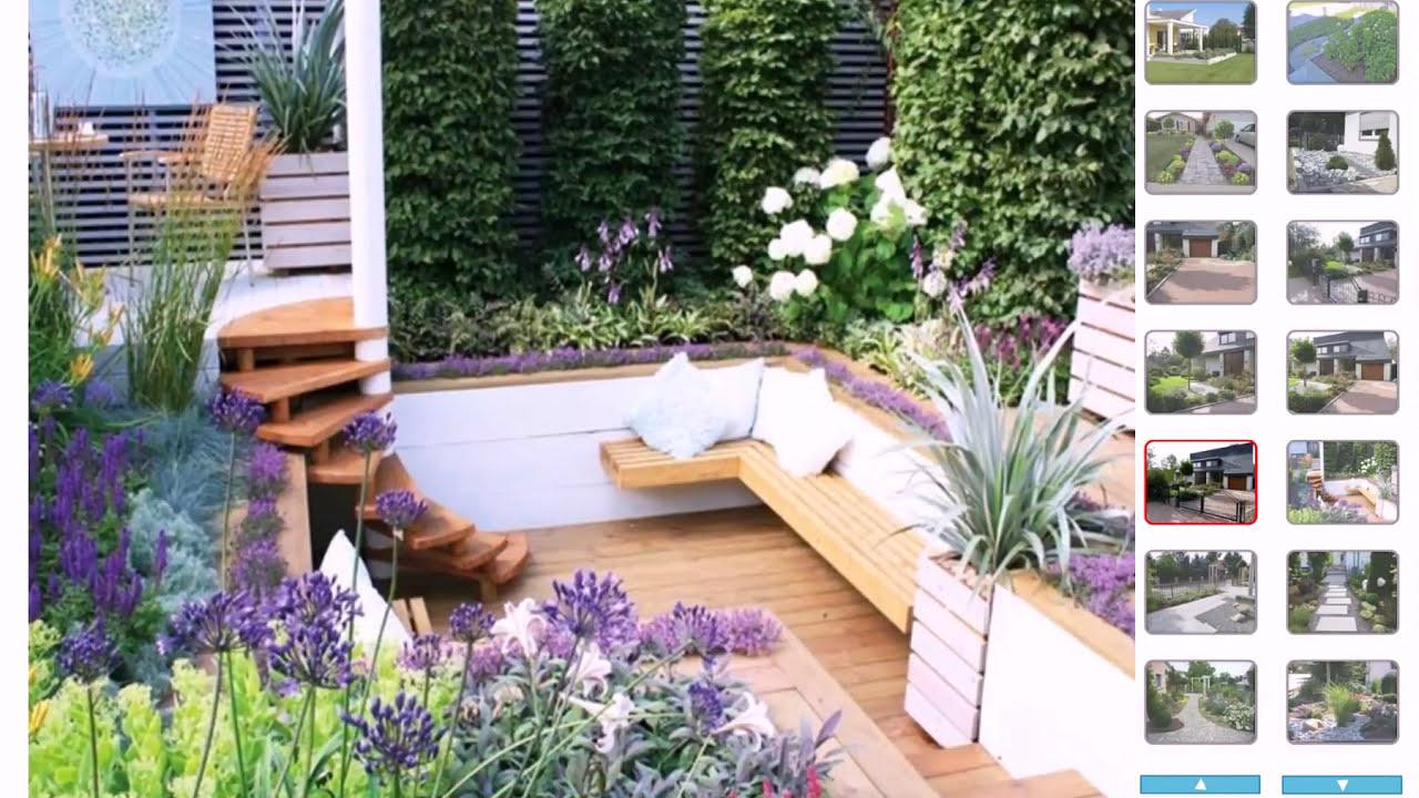 Gartengestaltung Vorgarten   YouTube