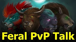 Level 110 Feral Druid PvP Commentary - The Spread Pressure DPS God + Feral First Impressions