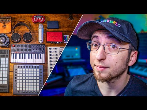 FIRST 10 THINGS YOU NEED AS A MUSIC PRODUCER | home studio setup