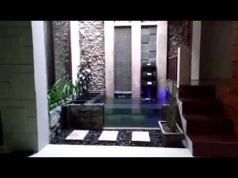 desain kolam koi minimalis - youtube