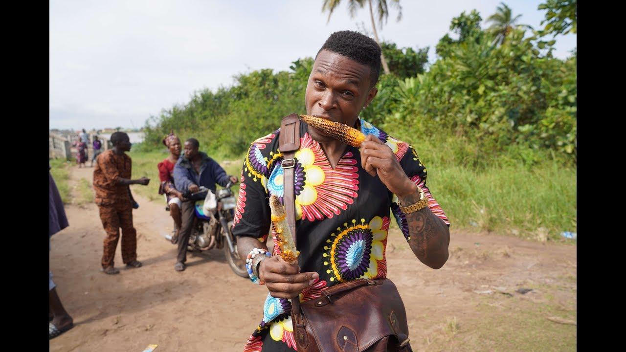 Nigerian Street Food: Roasted Corn
