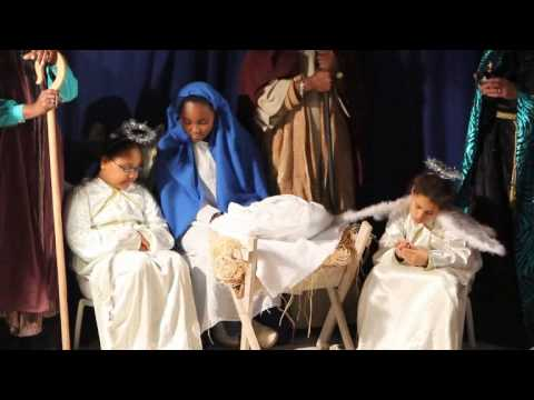 Live Nativity & Carols At Wesley Methodist Church Dec 21 2011