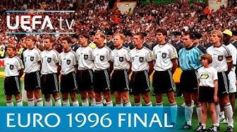 Germany v Czech Republic: EURO '96 final highlights