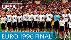 Germany v Czech Republic: EURO '96 final highlights
