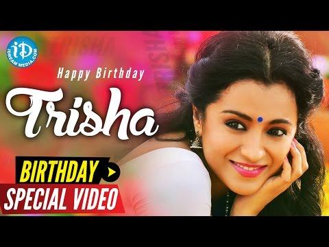 Actress Trisha Krishnan's Birthday Special Wishes From iDream Media | Something Special #37