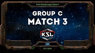 [KSL 4] Round of 16 | Group C | Losers Match | Sharp (T) vs. sOrry (T)