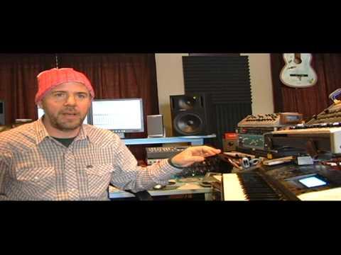 Jason Lytle (Grandaddy) ,making of the Talk Talk Tribute track: ' Tomorrow Started'.