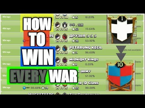 coc war matchmaking tips