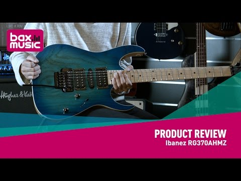 Ibanez RG370AHMZ - NAMM 2017 (first full review)