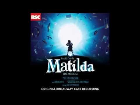 The Hammer Matilda the Musical Original Broadway Cast
