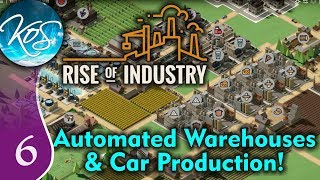 Rise of Industry Ep 6: OVERWHELMED BY CAR PARTS - ALPHA 6RC5 - Let's Play, Gameplay Mp3