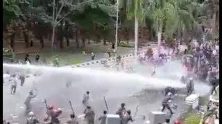 Pulau Dirusak Penambang TKA, Masyarakat Konawe Demo di Kantor Gubernur Sultra Disemprot Gas Air Mata thumbnail