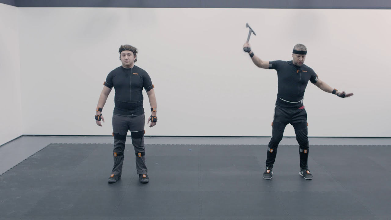 Motion Capture Acting Workshop: Two Days of Training & Demo
