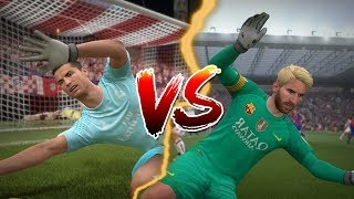 GOALKEEPER RONALDO VS GOALKEEPER MESSI PENALTY SHOOTOUT