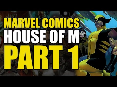 X-Men/Avengers: House of M Part 1