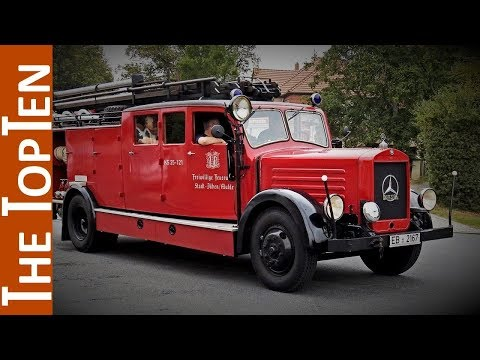 The Top Ten Coolest Old Fire Trucks