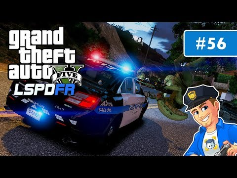 GTA 5 LSPDFR Wanted Felon and Alien Invasion in Vinewood Hills | Day 56 | GTA 5 Police Mods Gameplay