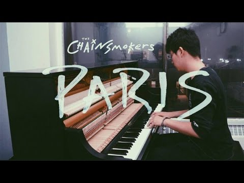 The Chainsmokers - Paris (Tony Ann Piano Cover)