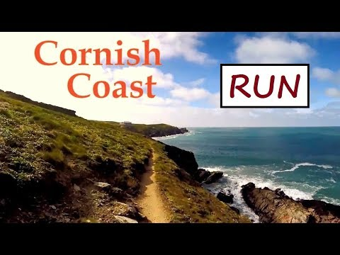 Running 10K In 50 Minutes On Beaches & Coastal Path At Newquay, Cornwall!