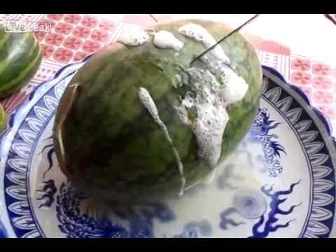 how to make a fake watermelon