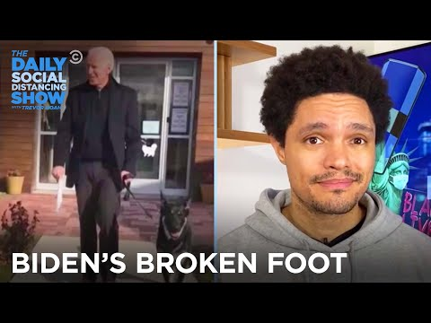 Biden Breaks His Foot & SantaCon Gets Canceled | The Daily Social Distancing Show