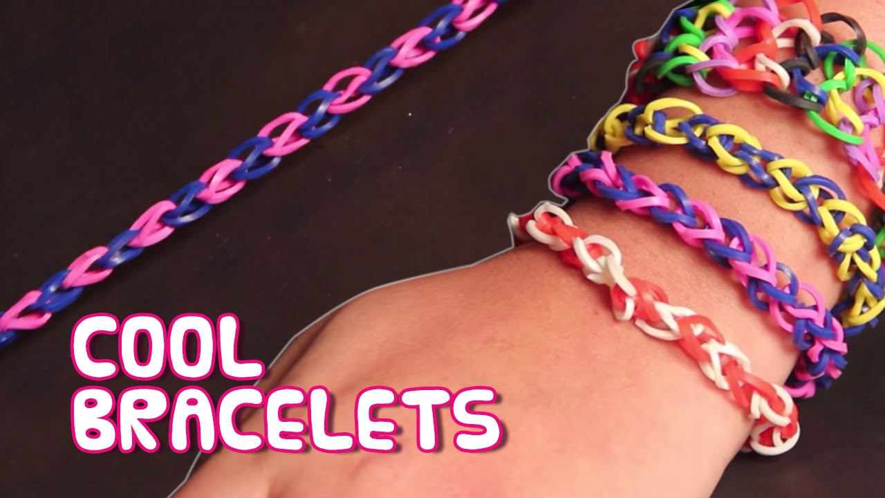 how to make rubber band bracelets without using loom diy
