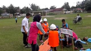 kegiatan puncak tema gejala alam kerja sama paud gembira kota banjarbaru dengan pmi kab banjar
