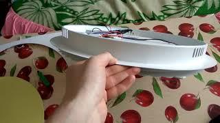 Термокольцо большого размера, для того чтобы утопить люстру в натяжной потолок