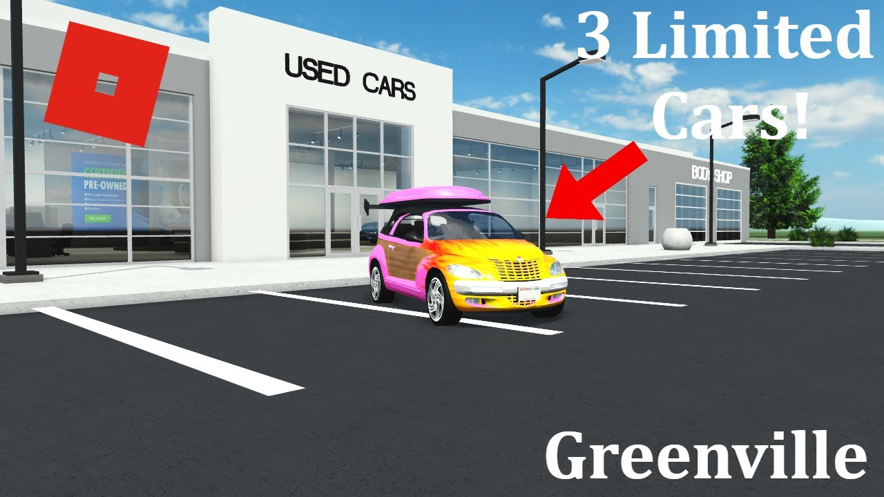 3 New Limited Cars For April Fools Greenville Beta Roblox Youtube