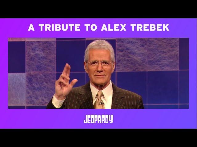 A Tribute To Alex Trebek | JEOPARDY!