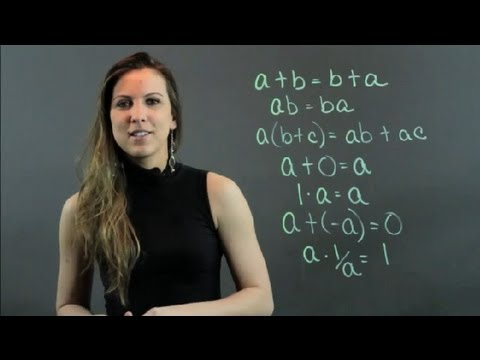 Common Algebraic Axioms : High School Math Help