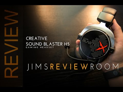 Creative Sound BlasterX H5 Gaming Headset - REVIEW